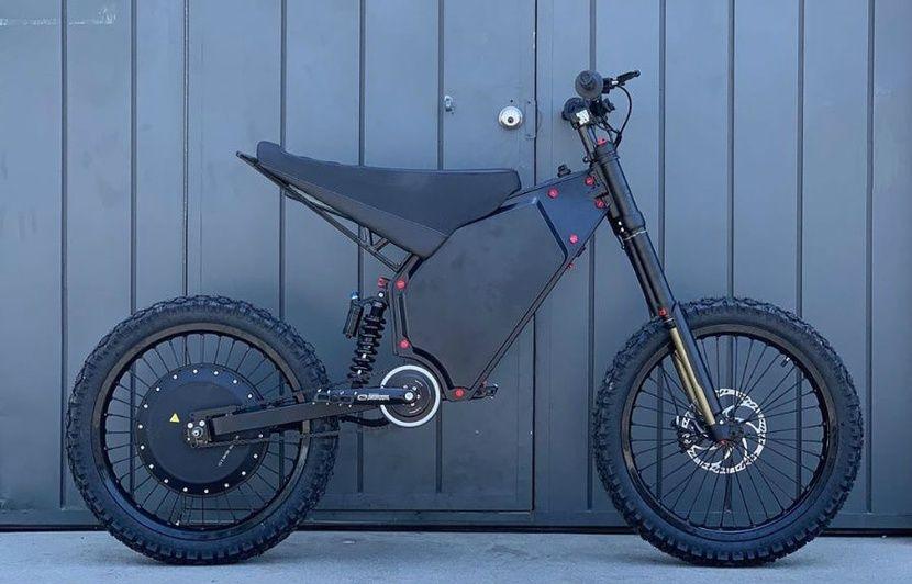 Vélo électrique: Le Recon peut passer de 0 à 80 km/h en 5 secondes seulement