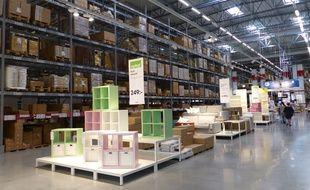 Dans le magasin IKEA d'Älmhult, le berceau historique du groupe d'ameublement en Suède.