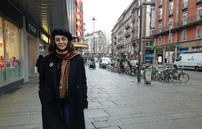 Joy Fleutot, 26 ans, avance sur son projet de boutique pour enfants unisexe depuis bientôt un an à Strasbourg.