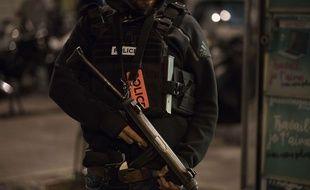 La police a évacué, lundi soir, la gare du Nord.
