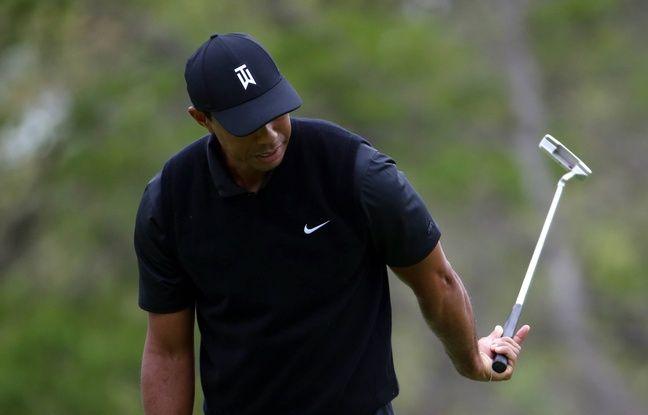 Golf: «Un jour où rien n'a fonctionné», Tiger Woods ne passe pas le cut en Grand Chelem