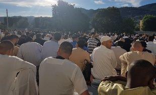 L'Aïd a été célébré vendredi à Nice.