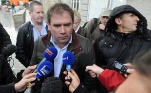 Christian Troadec, maire DVG de Carhaix, le 8 novembre 2013 à Quimper