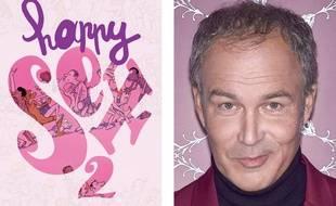 La couverture de « Happy sex 2 » et un portrait de Zep, son auteur