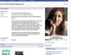 Le groupe «On s'en fout d'Ingrid Betancourt» sur Facebook