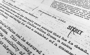 Trois mille documents sur l'assassinat du président américain John F. Kennedy, auparavant classés top secret, ont été publiés le 26 octobre 2017.