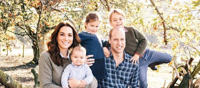 La photo de la carte de Noël de Kate et William.