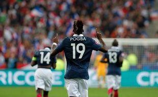 Paul Pogba, le 11 octobre 2014 au Stade de France.