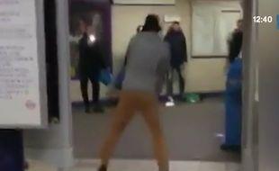 Attaque au couteau dans le métro de Londres