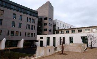 Le CHU de Reims, où est hospitalisé Vincent Lambert, un homme tétraplégique, au coeur d'une bataille familiale.