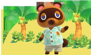 Le jeu vidéo Animal Crossing (illustration).