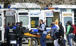 L'attaque terroriste au musée du Bardo a coûté la vie à 21 personnes mercredi à Tunis (AP Photo/Hassene Dridi)/