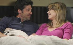 Patrick Dempsey et Ellen Pompeo dans Grey's Anatomy