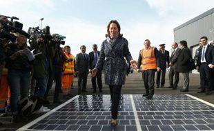 La ministre de l'Environnement Ségolène Royal, le 21 mars 2016 à Marseille