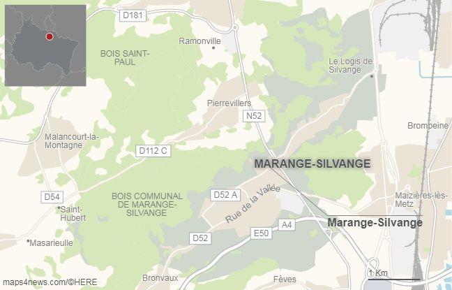 Marange-Silvange, en Moselle.