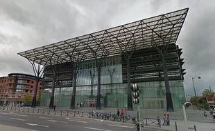 Le tribunal de Melun vu par Google Street View.