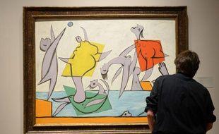 Le Sauvetage, 1932, Pablo Picasso.