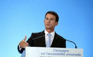 Le Premier ministre Manuel Valls, le 4 septembre 2015 à Paris