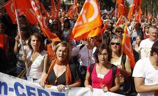 La manifestation a rassemblé entre 1,1 et 3 millions de personnes en France, le 7 septembre 2010.