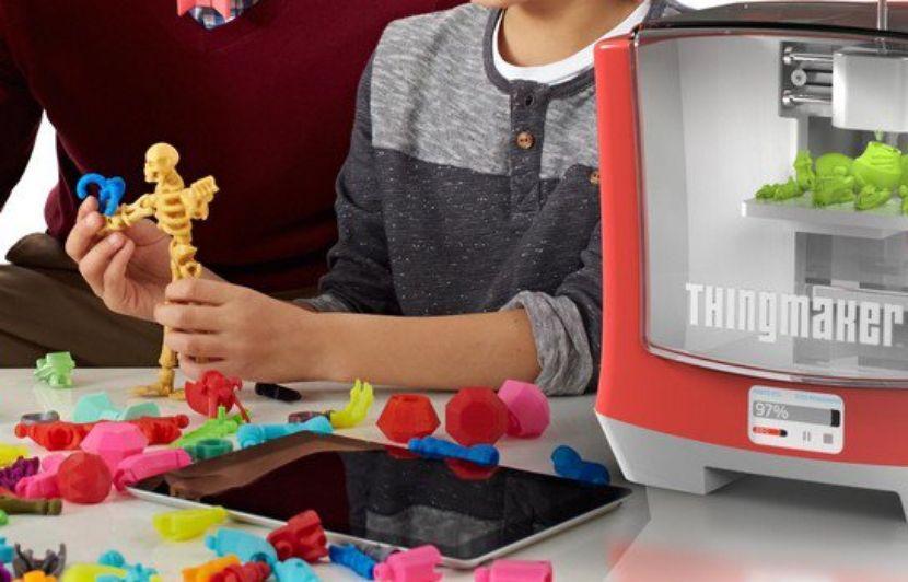 Mattel Une Imprimante 3d Pour Fabriquer Ses Jouets à La Maison