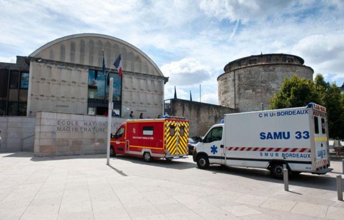L'Ecole nationale de la magistrature de Bordeaux, le 31 août 2012. – Sébastien Ortola / 20 MINUTES