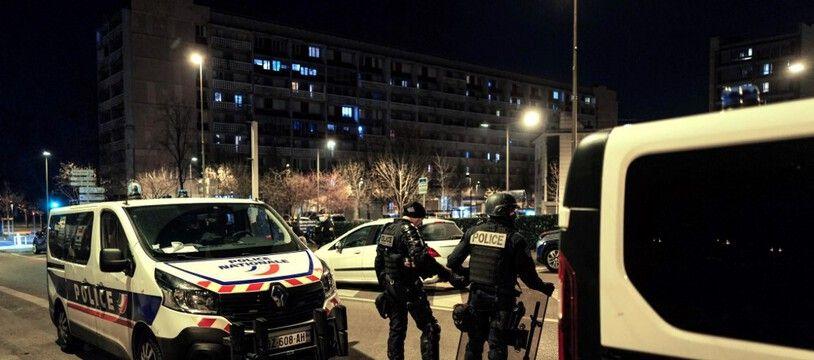 Photo d'illustration d'une intervention des forces de police dans la métropole lyonnaise.
