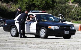 Une voiture de police aux Etats-Unis.