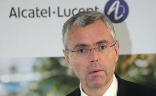 L'ex-directeur général d'Alcatel-Lucent, Michel Combes, le 6 fevrier 2015 à Paris