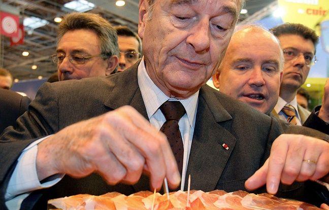 Jacques Chirac au Salon de l'agriculture en 2006.