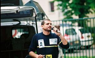 Gaël Quirante, 33 ans, postier et syndicaliste à Levallois-Perret (92) a été convoqué au 36, quai des Orfèvres, dans le cadre de l'enquête sur la tentative d'attentat au Printemps-Haussmann.