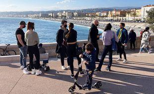 Le dimanche 21 février 2021 à Nice