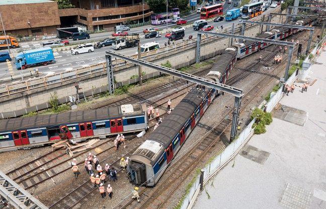 Hong Kong: Huit personnes blessées après le déraillement d'un métro en une heure de pointe