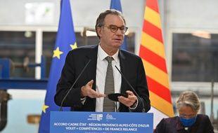 Le président de la région Provence-Alpes-Côte-d'Azur, Renaud Muselier.