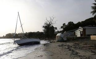 La tempête Adrian a frappée la Corse fin octobre 2018