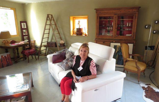 A Bègles, le 22 septembre 2016,Noëlle est très contente de son appartement en rez-de-chaussée de 80 m2.
