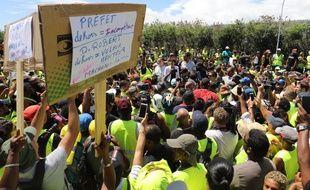 Annick Girardin est à La Réunion pour s'entretenir avec les «gilets jaunes»