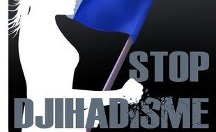 """Voici l'image des deux comptes officiels """"Stop djihadisme""""."""