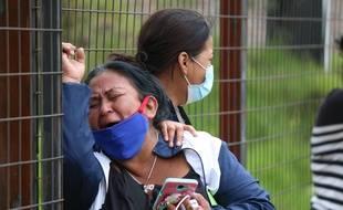 """Il s'agissait """"d'une extermination entre bandes criminelles"""", a déclaré le président Lenin Moreno, au lendemain de ce qu'il a qualifié de """"barbarie""""."""