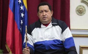 Le président du Venezuela, Hugo Chavez, le 10 décembre 2012, à Caracas.