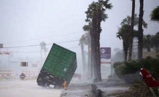 L'ouragan Harvey devait frapper Corpus Christi, au Texas, dans la nuit du 25 au 26 août 2017.
