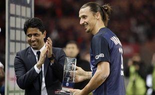 Avec 110 but, Zlatan Ibrahimovic est devenu le meilleur buteur du PSG dimanche soir.