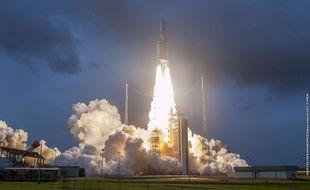 Lancement d'une fusée Ariane 5 en décembre 2018.