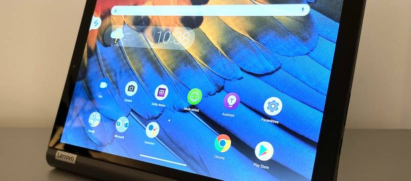La tablette Yoga Smart Tab de Lenovo.