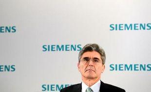 Joe Kaeser, actuel directeur financier de Siemens, a été nommé patron du conglomérat industriel en remplacement de Peter Löscher, dont le départ anticipé a été validé mercredi par le conseil de surveillance