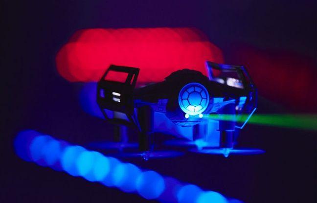 Pas de sabre, mais un canon laser est embarqué à bord des drones Star Wars de Propel.