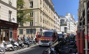 Les secours interviennent après une violente rixe, ce mardi dans le 11e arrondissement de Paris