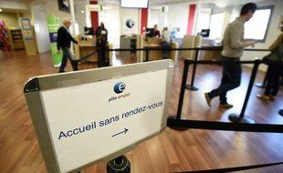 Une agence Pôle emploi à Montpellier (image d'illustration).