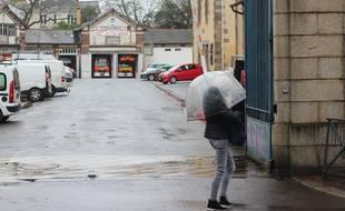 La caserne de pompiers Saint-Georges, à Rennes, où un cas de coronavirus a été détecté le 29 février 2020.