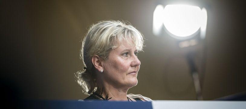 Nadine Morano lors du conseil national des Républicains a Menton, le 30 Juin 2018.