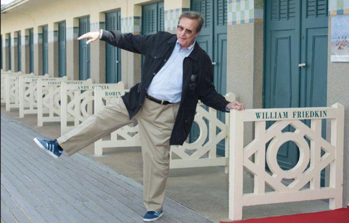 Le réalisateur américain William Friedkin, au Festival du film américain de Deauville, le 9 février 2012. – NIVIERE/BENAROCH/SIPA